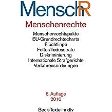 Menschenrechte: Ihr internationaler Schutz. Textausgabe (dtv Beck Texte)