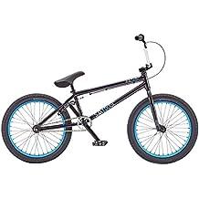 "Radio Bikes Saiko - Bicicleta de BMX, color negro, talla 20.75"""