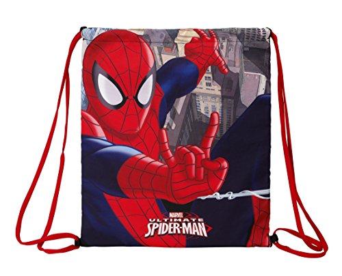 Disney Spiderman Sport-Nero / Rosso Taglia UE 35 x 40 cm