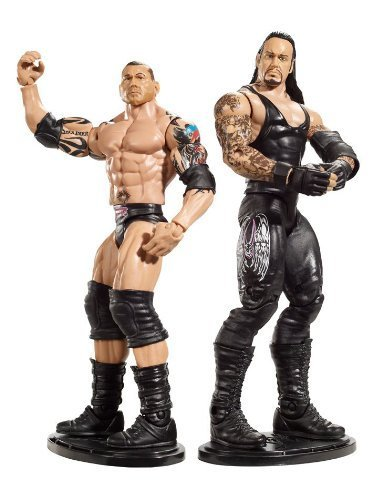 WWE Ultimate Rivals Undertaker vs. Batista Figure 2-Pack Series #6 by Mattel