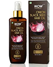 WOW Skin Science Onion Black Seed Hair Oil, 200mL