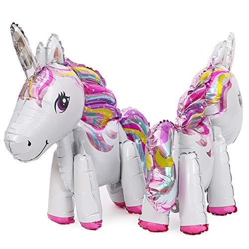 whatUneed Globos del Unicornio, Globo de la Hoja del Partido, Juguetes para la Boda, decoración de la Fiesta de cumpleaños Regalo de los niños de los niños