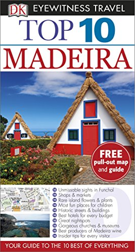 DK Eyewitness Top 10 Travel Guide: Madeira Test