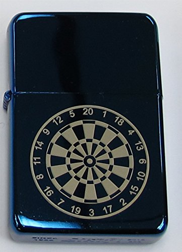 blue-darts-dartboard-17-personalised-star-petrol-lighter-in-gift-tin-engraved-free-of-charge