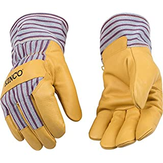 Kinco 1927 -XXL-1 Lined Grain Pigskin Gloves, 11.6