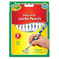 Crayola My First Crayola 81-8105 Jumbo Decorated Pencils