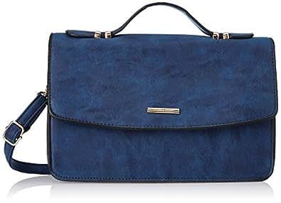 Diana Korr Women's Sling Bag (Blue) (DK57SDBLU)