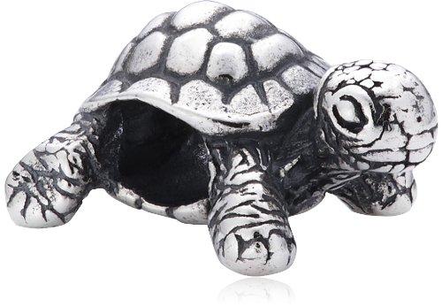 Trollbeads Silber Bead Afrikanische Schildkröte