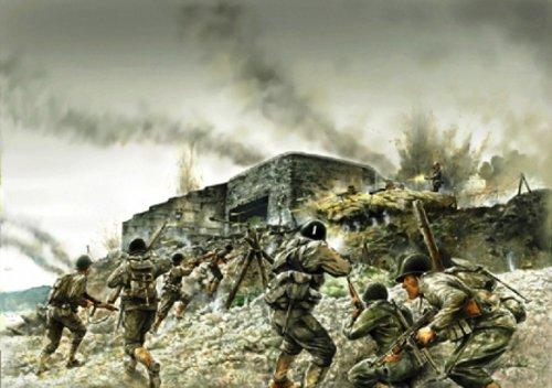 Italeri 510006172 - Attacco al bunker sul litorale, scala 1:72