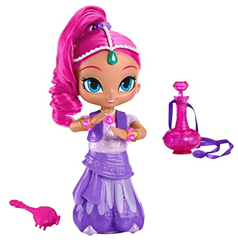 Fisher Price DKR21 Nickelodeon Spielzeug - Shimmer and Shine - Wunsch und Spin Shimmer Deluxe 10-Zoll-Puppe