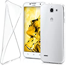 Funda protectora OneFlow para funda Huawei Ascend G730 Carcasa silicona TPU 0,7 mm | Accesorios cubierta protección móvil | Funda móvil paragolpes bolso traslúcida transparente en Trasparente