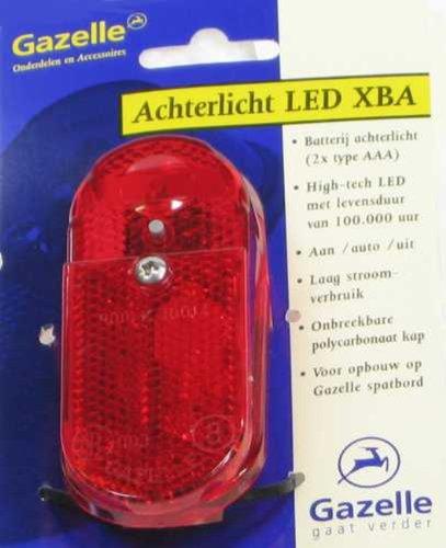 LED Batterie-Rücklicht mit An-Aus Automatik