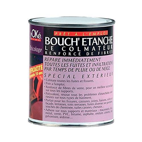 BOUCHETANCHE - Peinture fibrée de colmatage fuite réparation étanchéité tuile gouttière...