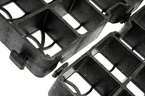 30LG REITPLATZBAU Paddockplatten Paddockplatte 50x50x3 cm Kunststoff Rasengitter -