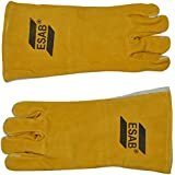 TOOLSCENTRE 3342 Quality Welding Hand Gloves Made of Hard Wearing, Heat Resis Ting Chrome Leather, Fully Lined and Kevlar Stiched