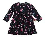 Sigikid Mädchen Kleid Mini, Grau (Phantom 266) 104