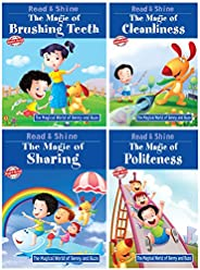 The Magic of Good Habits (Set of 4 Books) - Politeness, Confidence, Sharing & Brushing T