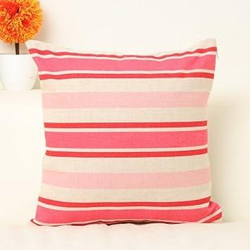 Lhl Standard Fllung Kissen Kleine Fresh Pink Wohnzimmer Bettwsche Sofakissen Bro Minimalist Moderne Party Sofa