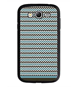PrintDhaba Zig Zag Pattern D-1691 Back Case Cover for SAMSUNG GALAXY GRAND I9082 (Multi-Coloured)