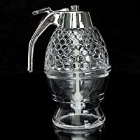 Honeycomb Dispenser Acrylic Honey Pot Gravy Boats Crystal Syrup Dispenser