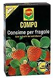 Compo, Concime per Fragole con Guano, Ottimo Anche per Kiwi, lamponi, mirtilli, Ribes e UVA Spina, 1 kg, 1Kg