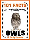 101 Facts... Owls! Owl Books for Kids (101 Animal Facts Book 24)