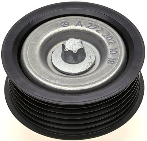 ACDelco 38099 Professional Flanged Idler Pulley with Bolt, Insert, and