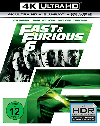 Fast & Furious 6 - Extended Version - Ultra HD Blu-ray [4k + Blu-ray Disc]