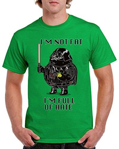 Camisetas La Colmena Herren T-Shirt schwarz Schwarz Irisches Grün