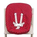 Blausberg Baby - Bezug für Stokke Newborn Set rot Sterne