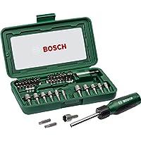 Bosch 2607019504 DIY Tornavida Seti, 46 Parça