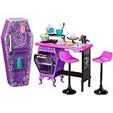 Mattel Monster High BDD82 -  Hauswirtschaft Klassenzimmer, Zubehör