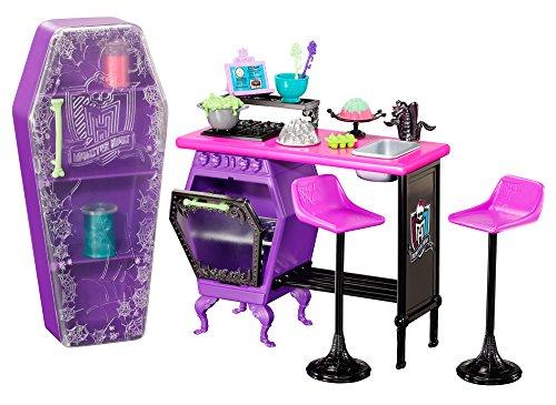 Mattel Monster High BDD82 -  Hauswirtschaft Klassenzimmer, Zubehör (Monster High Sachen)