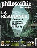 Philosophie magazine n 123 la resonance - octobre 2018