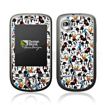 HTC Tattoo Case Skin Sticker aus Vinyl-Folie Aufkleber Disney Mickey Mouse Goofy Donald Duck Minnie Mouse Fanartikel Geschenke