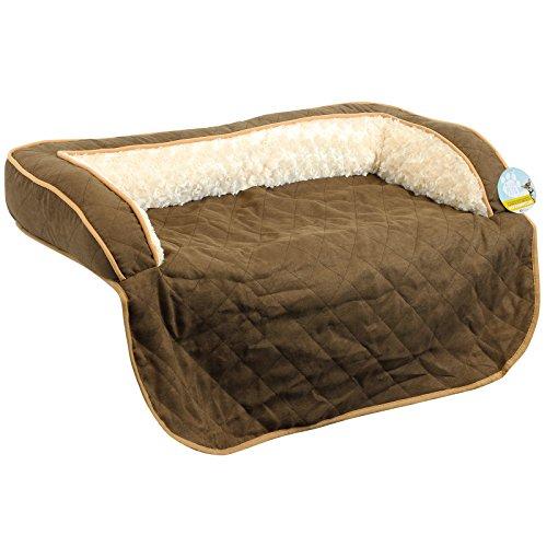 Me & My Pets - Gesteppter Sofa-Schoner für Hunde/Katzen - Braun - Verschiedene Größen