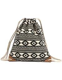 Drawstring Gym Sport Bag, Large Lightweight Gym Sackpack Backpack For Men And Women By Htop