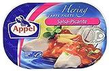 Appel Heringsfilets, zarte Fisch-Filets Salsa-Picante, MSC zertifiziert, 200 g