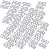 50x Velcro Plastic Table Skirt Skirting Clips Desk Cloth Clamps Tableware Decor