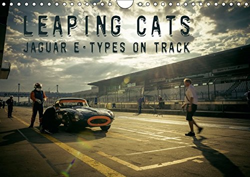 Leaping Cats - Jaguar E-Types on Track (Wandkalender for sale  Delivered anywhere in UK