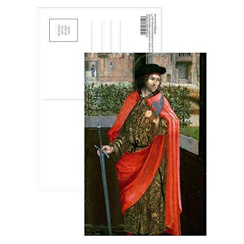 St. Crispin, 16th century by Dutch School - Postkarten (8er-Packung) - 15,2x10,2 cm - Beste Qualität - Standardgröße - 16th Century Portraits