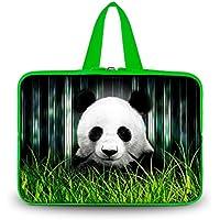 Panda 35,56 cm da custodia borsa protettiva da trasporto con maniglia portatile per 35,56 cm Alienware alw14-2500slv/Asus N82JQ-A1/Samsung Series 5 NP530U4B - A01US/DELL Inspiron 14R/HP ENVY 14 computer portatile