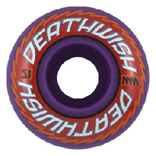 Unbekannt DEATHWISH Wheels SAW Set 51 mm (Zoo Skateboard Deck)