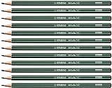 Crayon graphite - STABILO Othello - Lot de 12 crayons graphite 2H avec tête trempée
