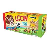 Eurocake Leon Snack Cake 10 Packs + 2 Packs free, 32 grams per pack