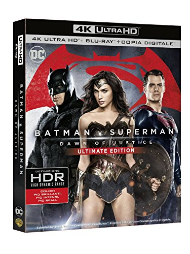 Batman V Superman - Dawn Of Justice (Blu-Ray 4K Ultra HD+Blu-Ray+Copia Digitale)...