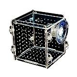 Legendog Fisch Box Multifunktionale Acryl Fisch Zuchtbecken Kleine Fische Aquarium mit Großen Saugnapf