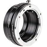 Quenox Objektivadapter (Adapter, Adapterring) für Sony/Minolta A-Mount Objektiv an Sony E-Mount Kamera - z.B. für Sony Alpha a6000 a5100 a5000 a3000 NEX-7 NEX-6 NEX-5T NEX-5N NEX-5R NEX-5 NEX-3 NEX-3N NEX-F3 NEX-C3 VG10 VG20 VG30 FS700