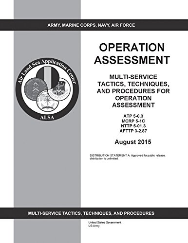 Multi-Service Tactics, Techniques, and Procedures for Operation Assessment ATP 5-0.3 MCRP 5-1C NTTP 5-01.3 AFTTP 3-2.87 August 2015 (English Edition)