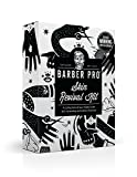 BARBER PRO Skin Revival Kit, Gentlemen's Sheet Mask, Under Eye Mask, Foaming Mask & Face Putty (4 Masks)